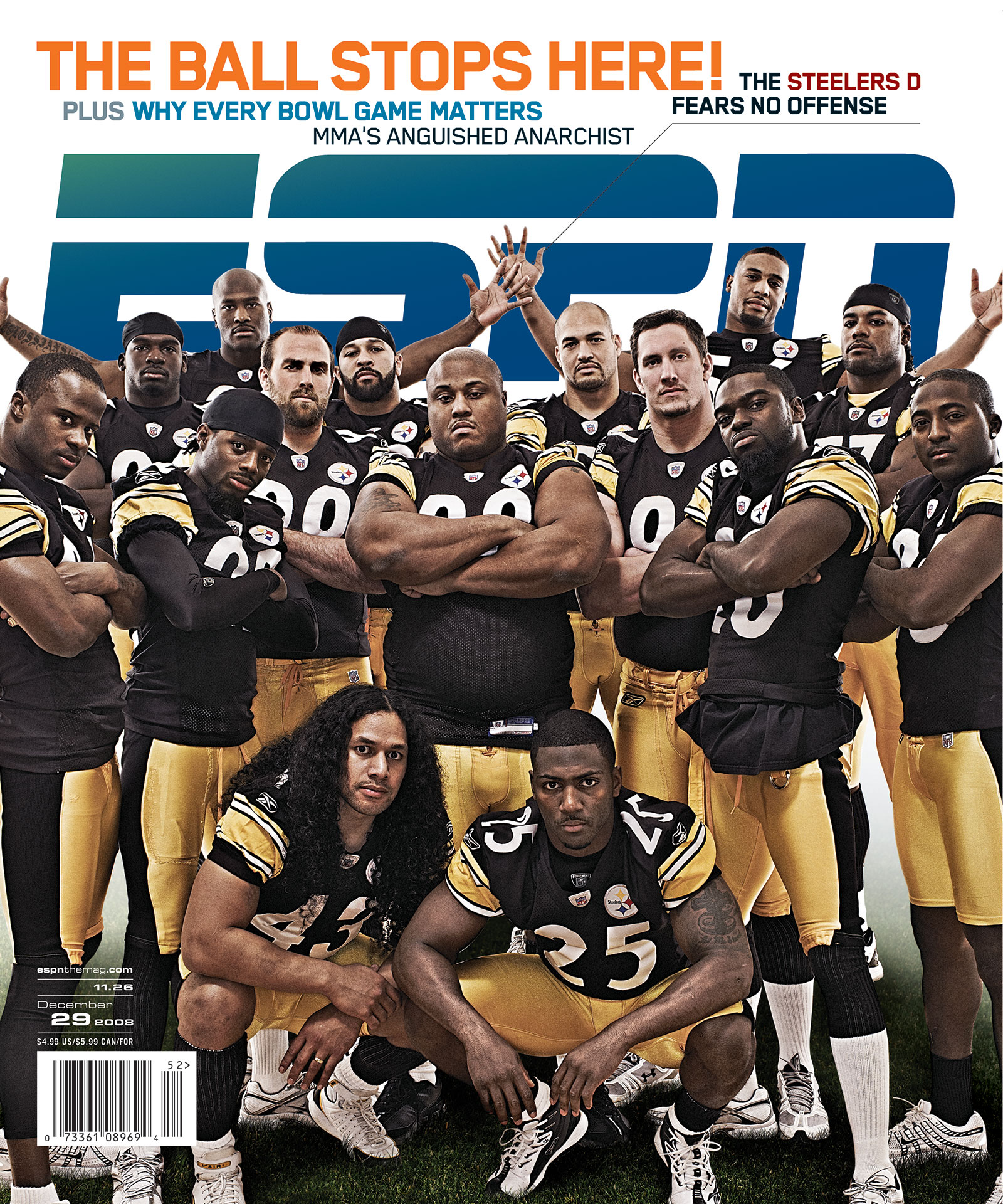 ESPN The Magazine 2008 Covers