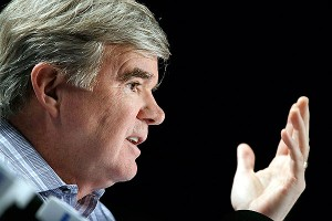 NCAA president Mark Emmert has recently seen his enforcement staff alarmingly dwindle.
