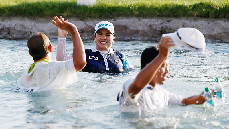Inbee Park won her first major, the U.S. Women's Open, as a 19-year-old, and has added three more this year.