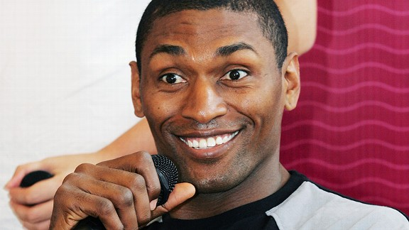 We already know Metta World Peace is too sexy for his cat. No word yet on where he stands with his shirt or car.