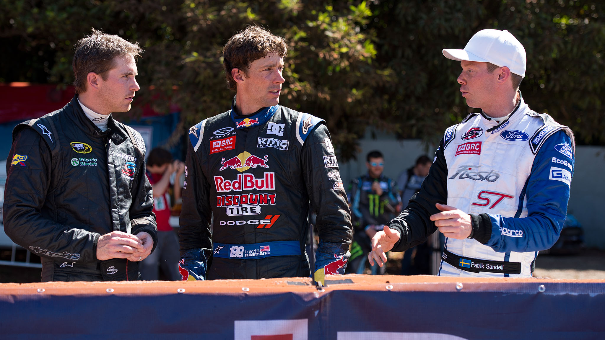 Scott Speed, Travis Pastrana, Patrik Sandell
