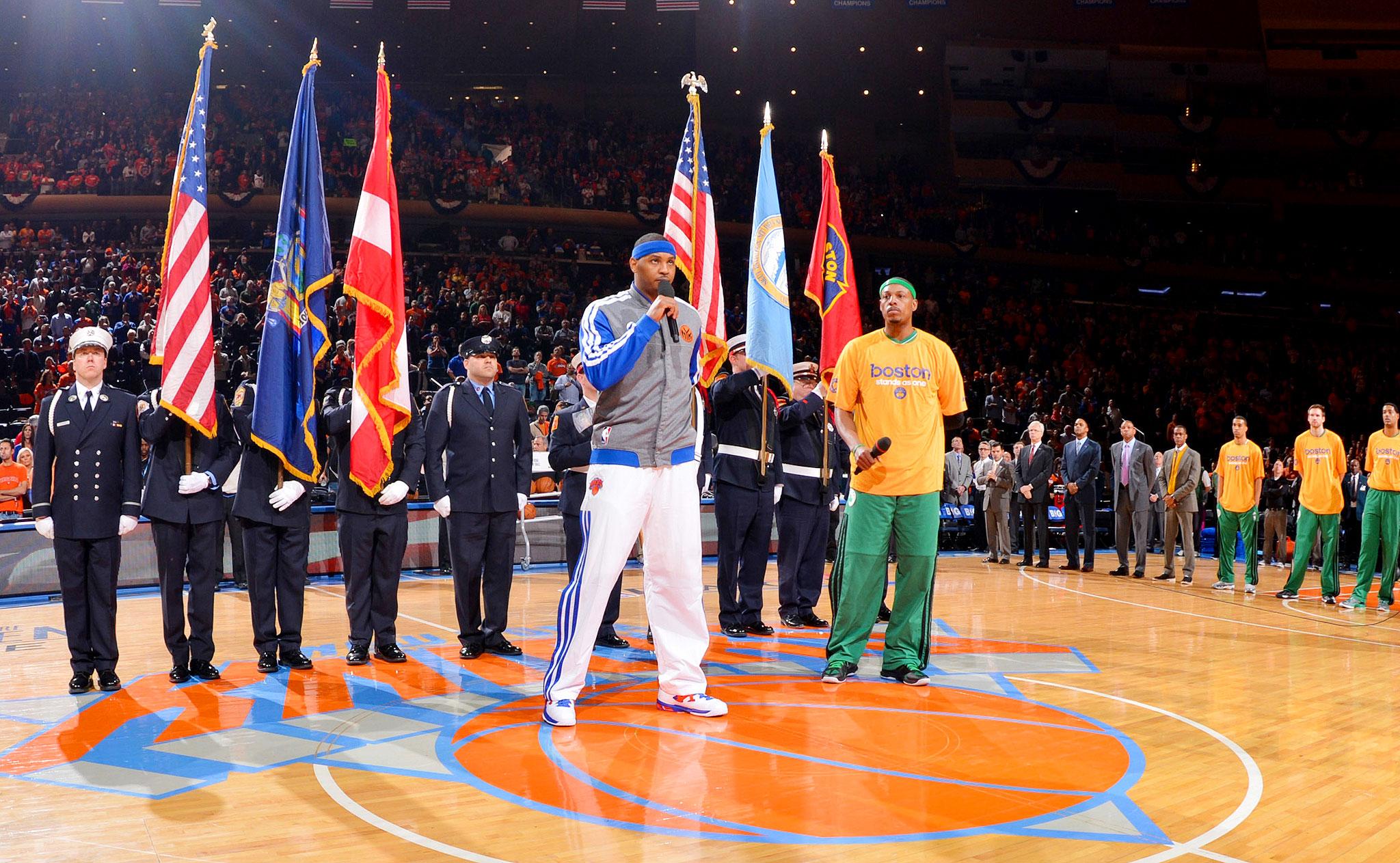 New York Honors Boston