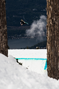 Up-and-coming Norwegian Emil Ulsletten stomped a couple double corks in the slopestyle finals, giving him the win.