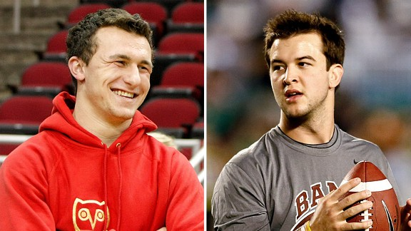 Rivals? Hardly. Johnny Manziel and AJ McCarron are planning to have a ball at the beach later this month.