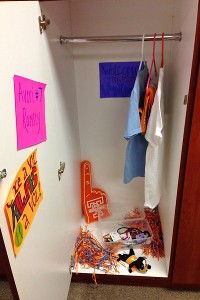 The Lady Vols gave Averi Ramsey her very own locker, a uniform and an assortment of bows, earrings and headbands.
