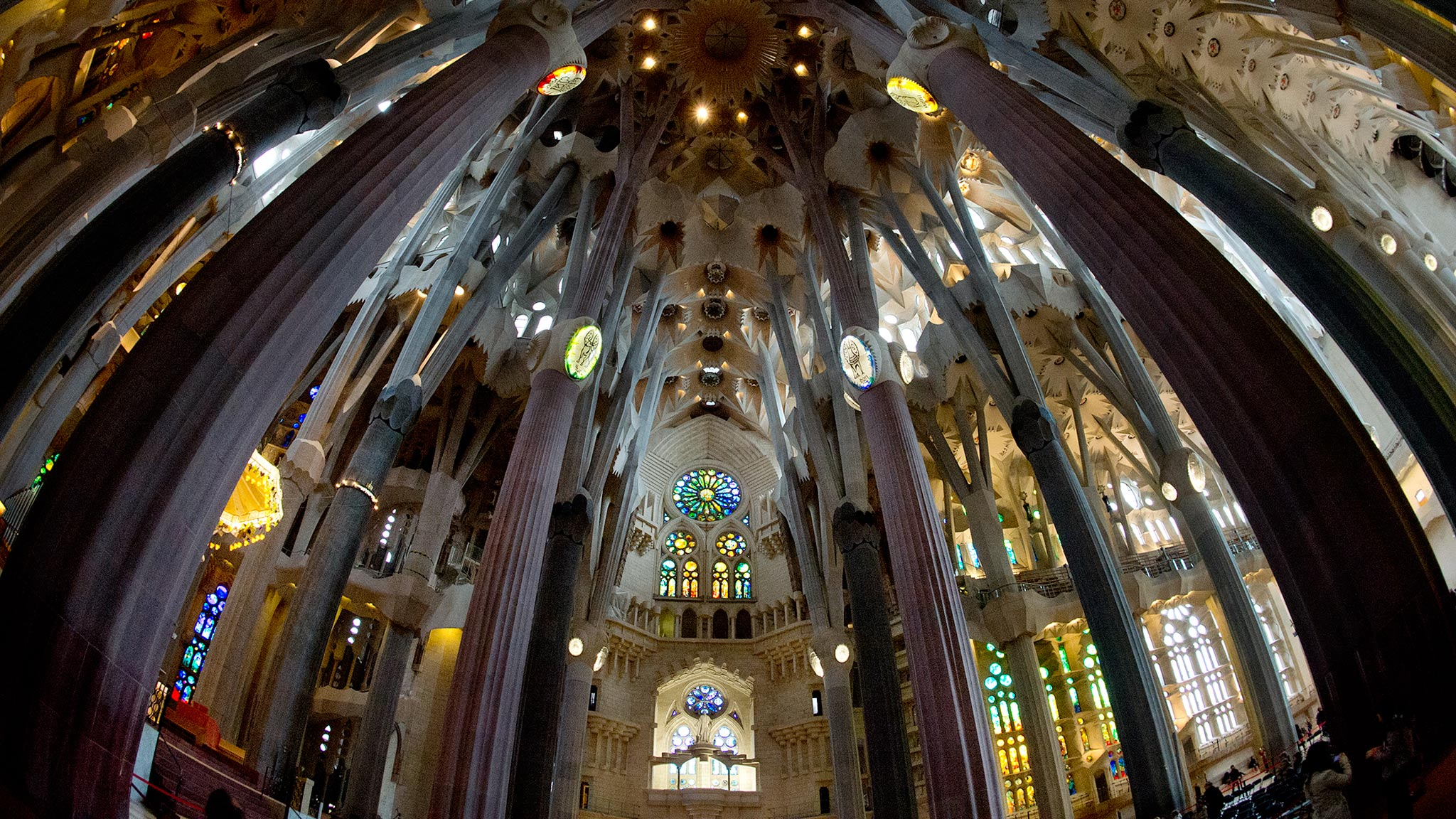 Sagrada Famlia Interior
