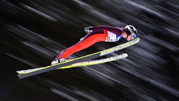 Jessica Jerome is excited for the Olympic debut of women's ski jumping in Sochi.