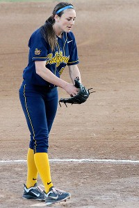 Jolene Henderson's injury late in the conference season hurt Cal's postseason prospects, but she is back on the mound as the NCAA tournament begins.