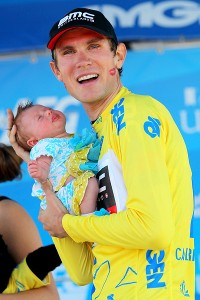 Men's stage winner and overall leader Tejay Van Garderen said he hopes for more opportunities for women, especially since he has a newborn daughter, Rylan.