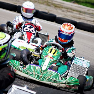 Ashley Rogero started karting at age 5, topping out at 20 mph, and things really began to click for her at age 11.