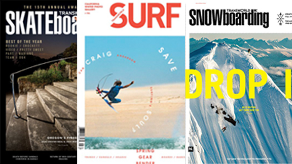 TransWorld's venerable skate, surf and snow titles are but part of a much larger package of action-sports properties acquired by GrindMedia.