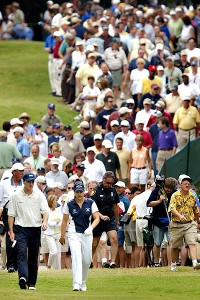 Everything was supersized at Colonial: massive galleries, huge media contingent, big TV audience.
