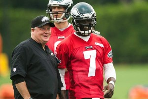Michael Vick and Chip Kelly