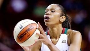 Tina Thompson became the first draft pick in WNBA history when she was selected by Houston in 1997.