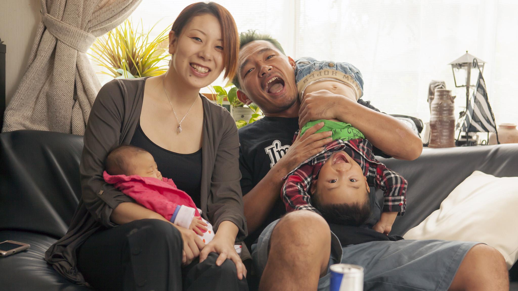 Eigo Sato, Kaori Sato, Eidai Sato