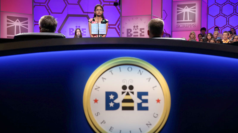 Nearly 300 of the best spellers from around the world compete this week in Washington, D.C., with the ultimate title on the line.