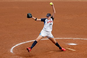 Softball's last appearance in the Olympics was in 2008 at the Beijing Games.