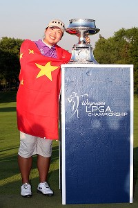 Shanshan Feng won the LPGA Championship last year, becoming the first player from mainland China to win an LPGA event.