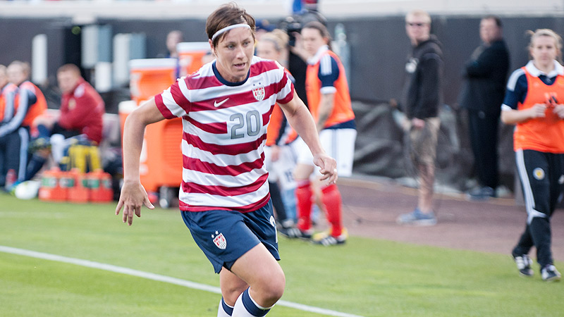 Abby Wambach and the U.S. women's national team face Australia in a friendly on Sunday in San Antonio.