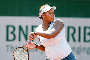 Taylor Townsend is making waves in the junior tournament at Roland Garros but hopes to be in the main draw soon.