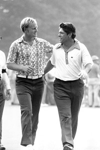 Lee Trevino and Jack Nicklaus