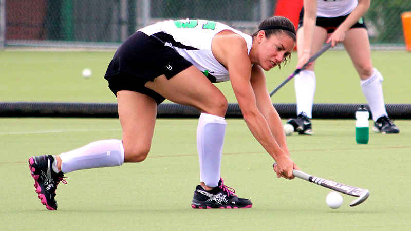 Alli Tanner, who starred at North Carolina, was one of the key organizers of the Harrow Cup and dug deep for the Tembos.
