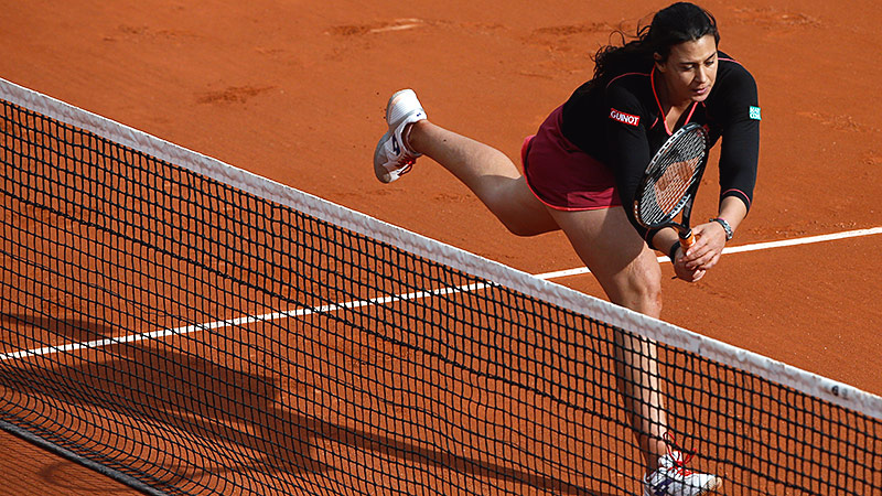 Marion Bartoli's father left his career in the medical field to coach her in tennis full time.