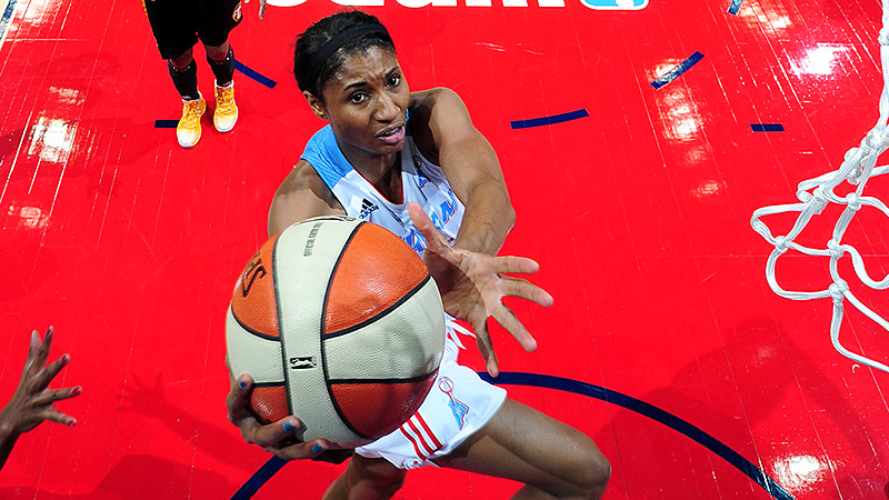 Angel McCoughtry, drafted out of Louisville with the No. 1 pick in 2009, has won back-to-back scoring titles in Atlanta.