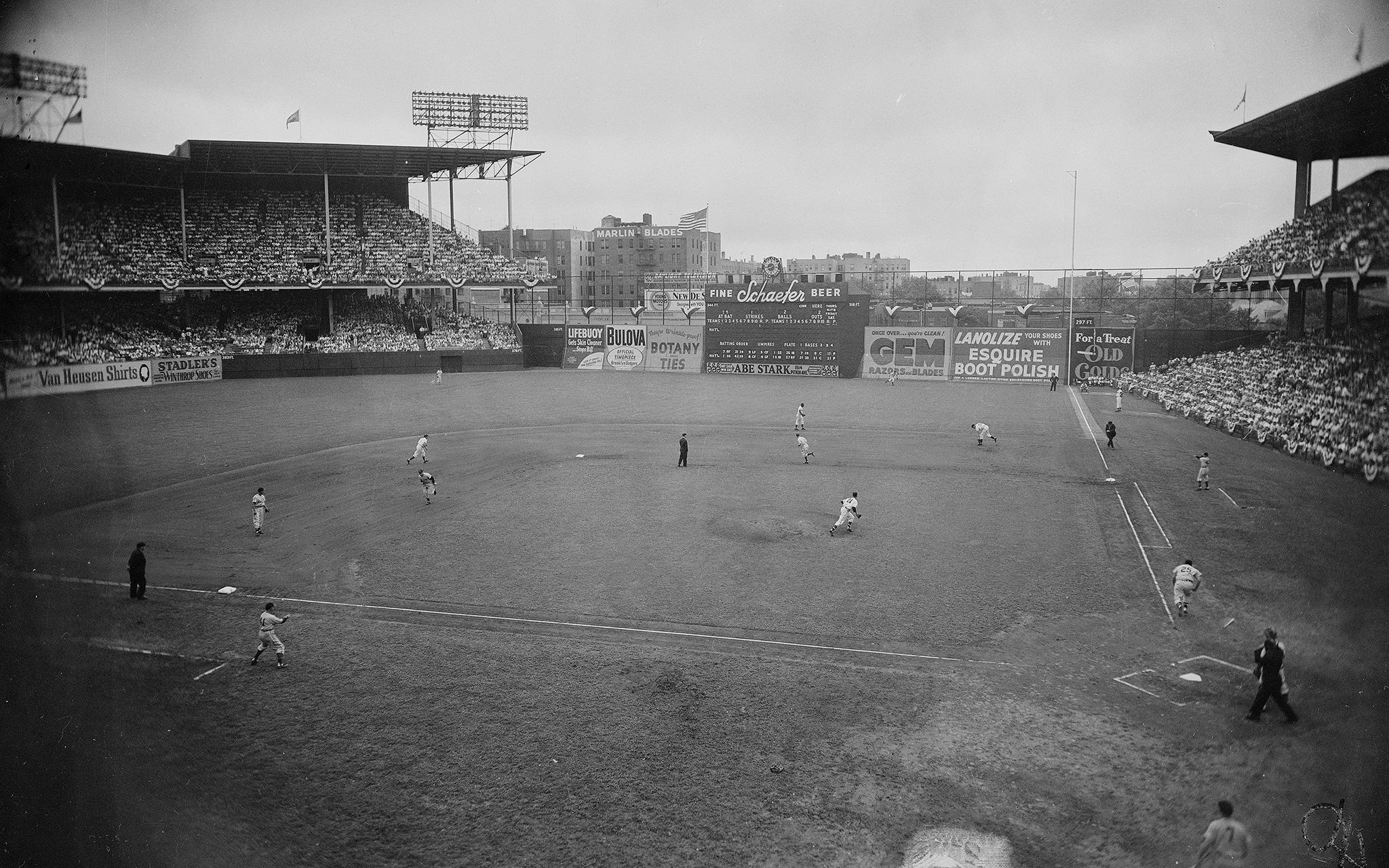 July 12, 1949 -- Ebbets Field