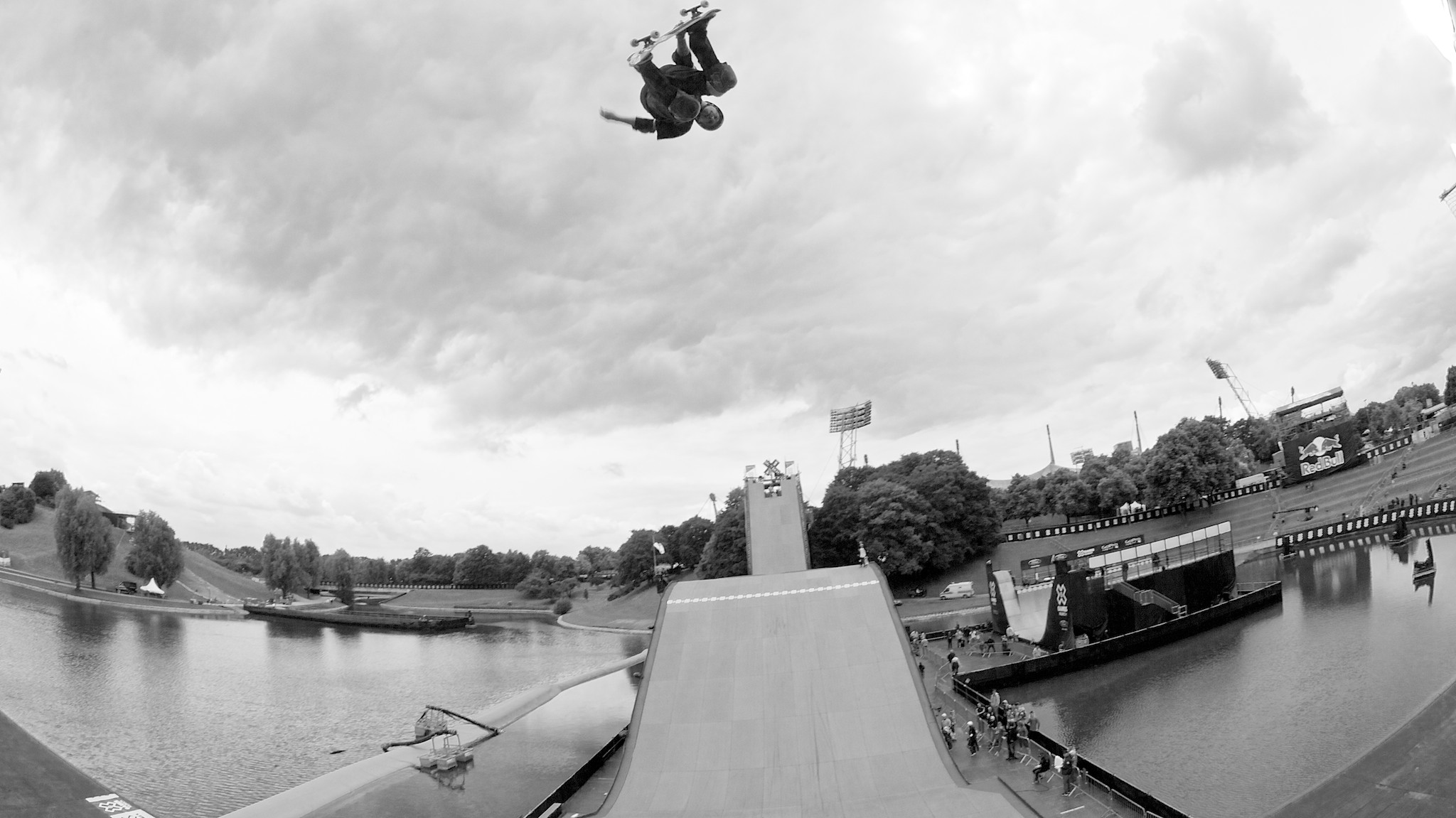 Treinos do Big Air nos X Games Munich