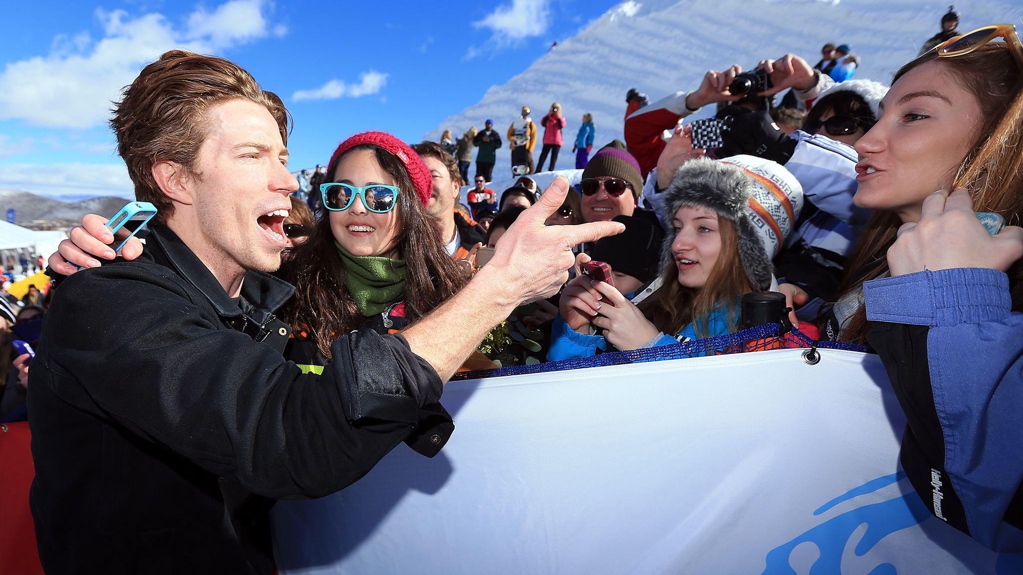 Shaun White, seen here at the U.S. Grand Prix in February, will release a debut album with his new band, Bad Things, later this year.