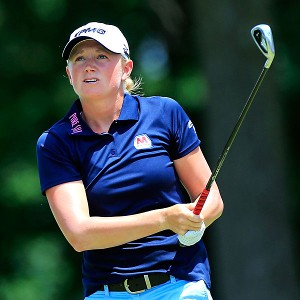 Stacy Lewis is the last American to win a major -- the 2011 Kraft Nabisco -- but she has just one top-10 finish in a Women's Open.
