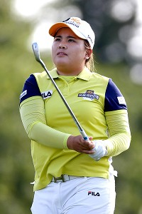 Chasing her third major in a row, Inbee Park posted an early 67 that topped the leaderboard most of the day.