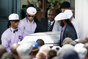 Pallbearers carry the casket of Odin Lloyd following a funeral ceremony in Boston on Saturday.