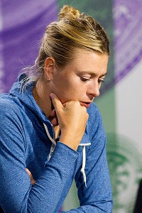 Maria Sharapova was one of many top-tier players who won't be around in Week 2.