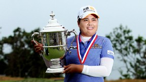 Inbee Park claimed her third straight major title during a historic win at the U.S. Women's Open.