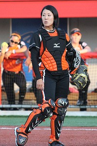 In her first year of NPF, Kazuki Watanabe is still learning about her opponents, but home in Japan, she is a leader on the diamond.