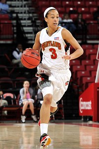 Jackie Nared transferred to Saint Marys after two years at Maryland.
