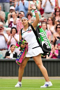 Marion Bartoli reached her second career Wimbledon final Thursday with a dominant performance.