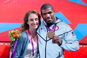 The U.S. Olympic Committee invited Dartanyon to live at the Olympic Training Center in Colorado Springs and learn judo for the Paralympics.