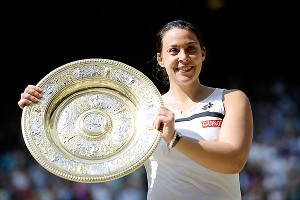 Marion Bartoli, 28, became the fifth-oldest first-time Grand Slam winner in the Open era on Saturday.
