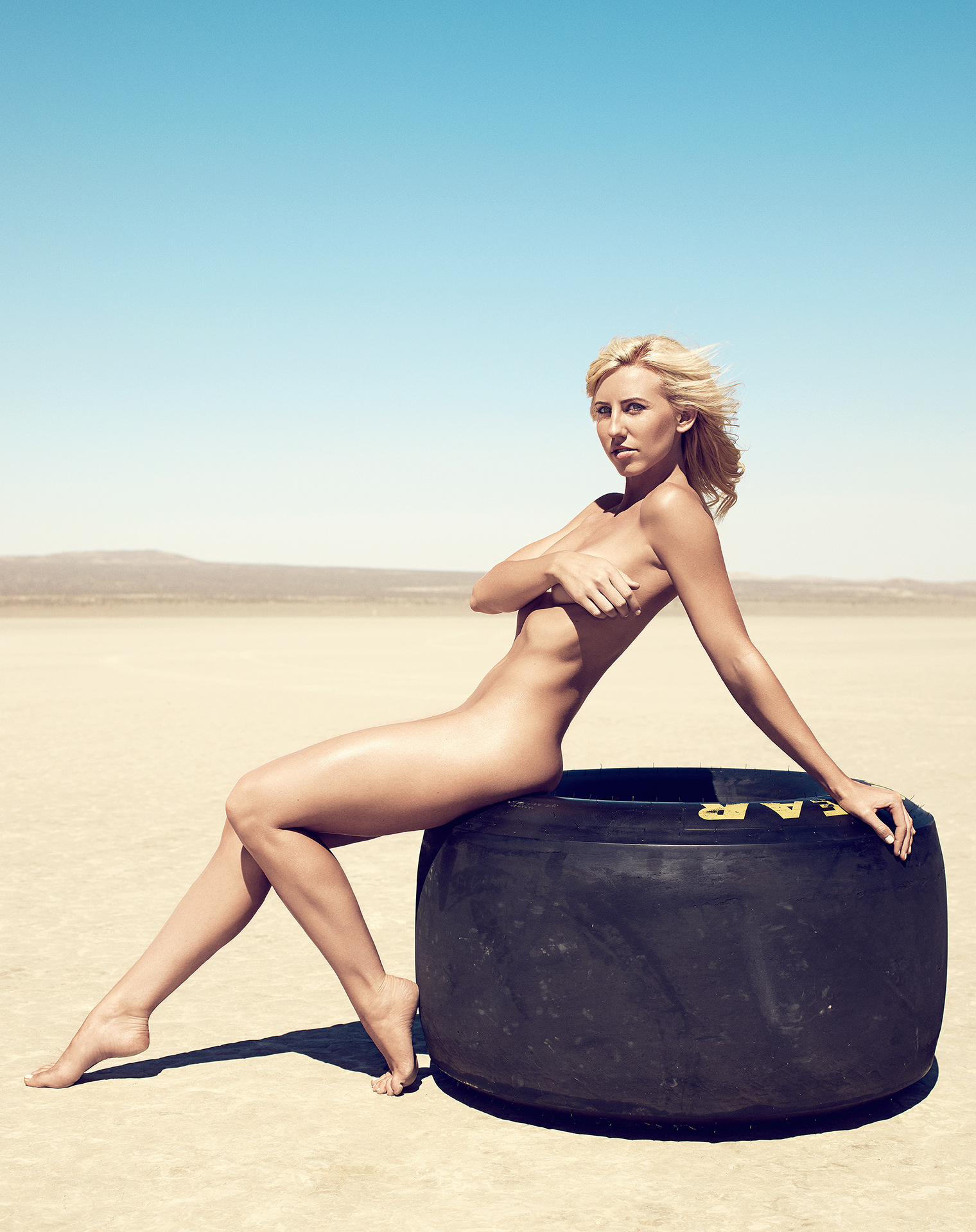 Courtney ForceAshley Force Body Issue