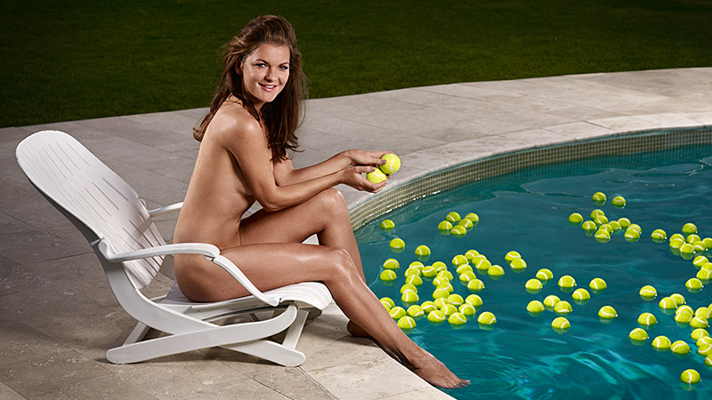 Radwanska likes to do at least 300 sit-ups in a single session.