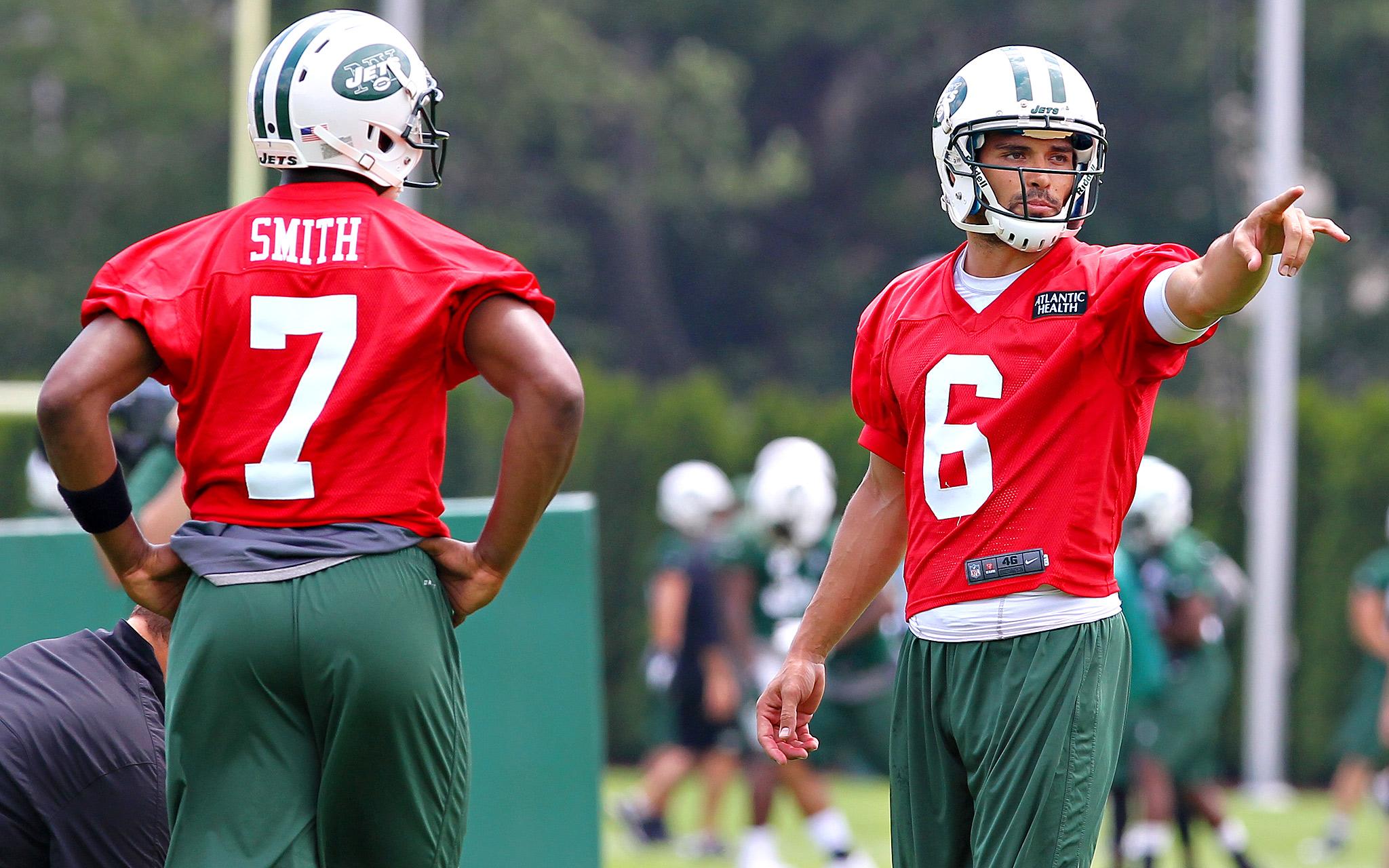 Geno Smith and Mark Sanchez