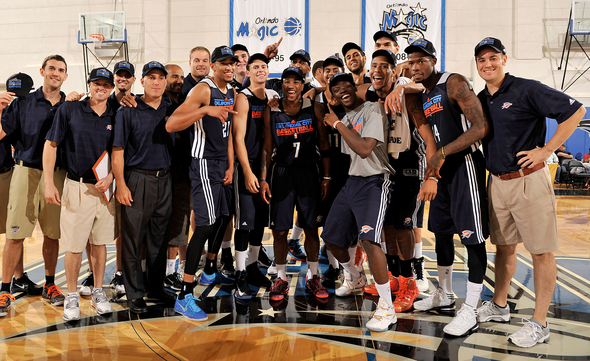 Thunder win Summer League