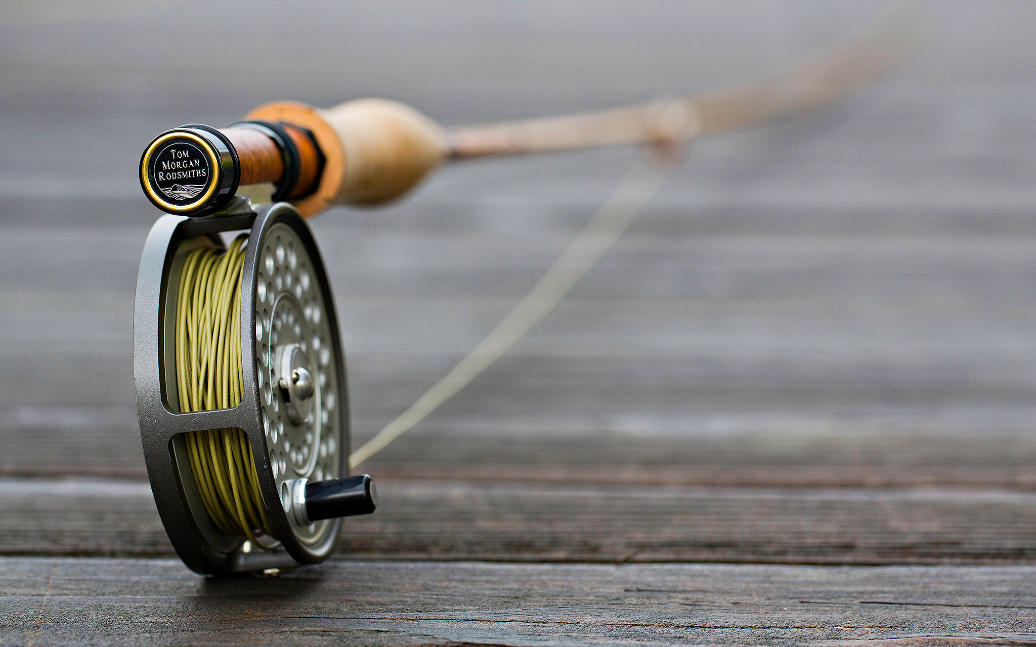 Completed Rod With Reels