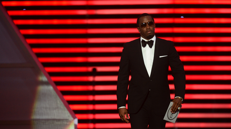 Sean Diddy Combs at The 2013 ESPYS.