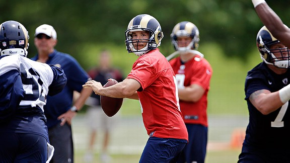 The Rams have surrounded Sam Bradford with better offensive weapons than he's had in the past.