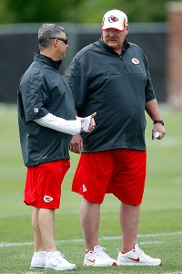 Andy Reid and Rick Burkholder