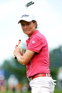 Being from Scotland, Catriona Matthew is familiar with links golf; she won the Womens British in 2009 and has finished in the top 10 four other times.